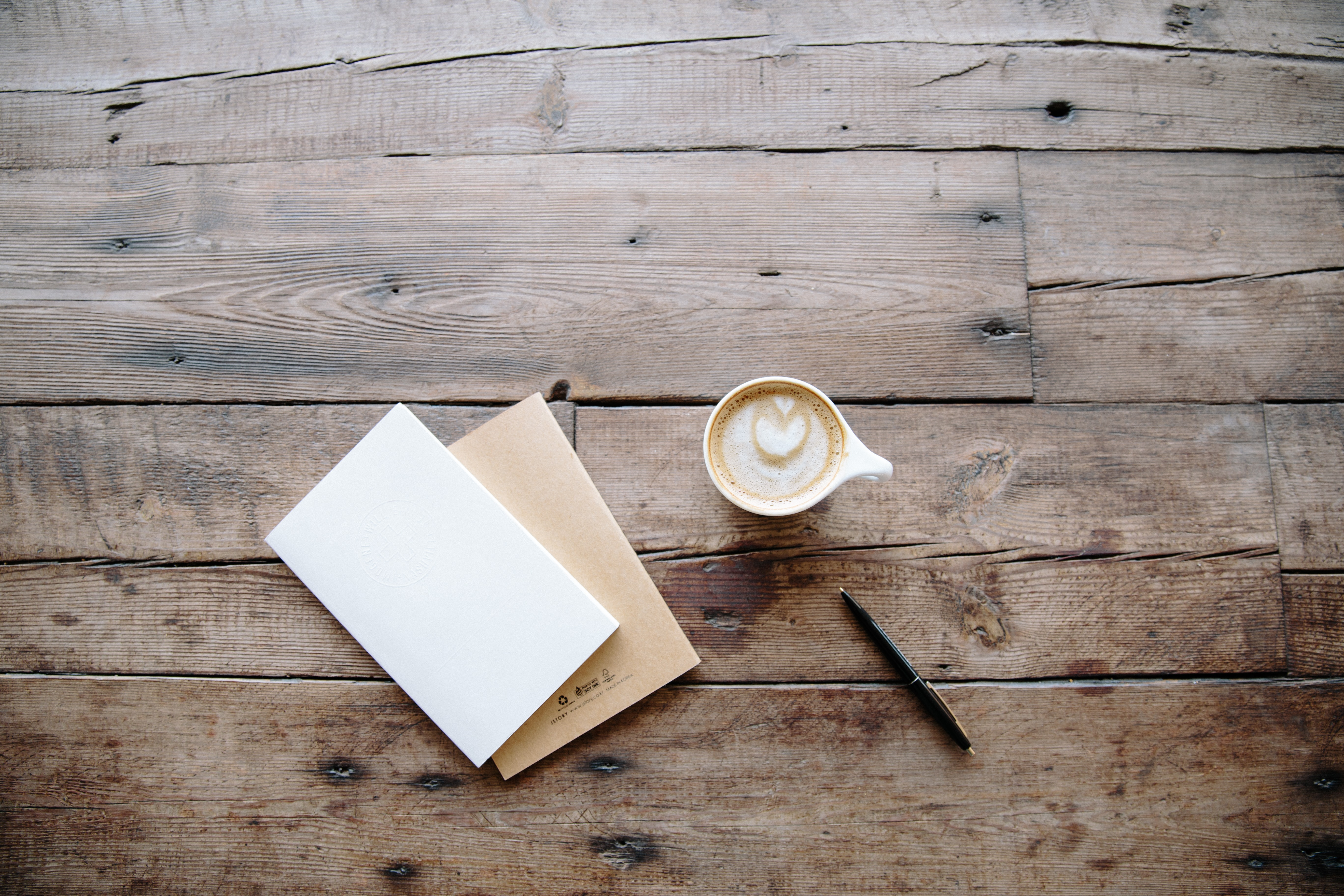 Coffee, paper work